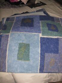 Double bedding set inc curtains