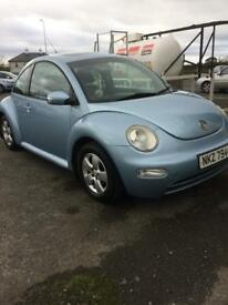 TRADE IN WELCOME 2005 BEETLE 1.4 (LOW INSURANCE MODEL)