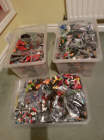 165 Complete Lego Bionicle and Hero Factory Sets