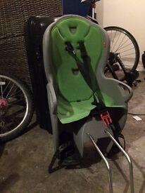 Halfords Hamas Kiss rear child's bike seat
