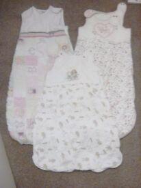 Newborn to 18months x3 gro bags/sleeping bag bundle