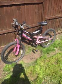 Child's silverfox mountain bike vgc