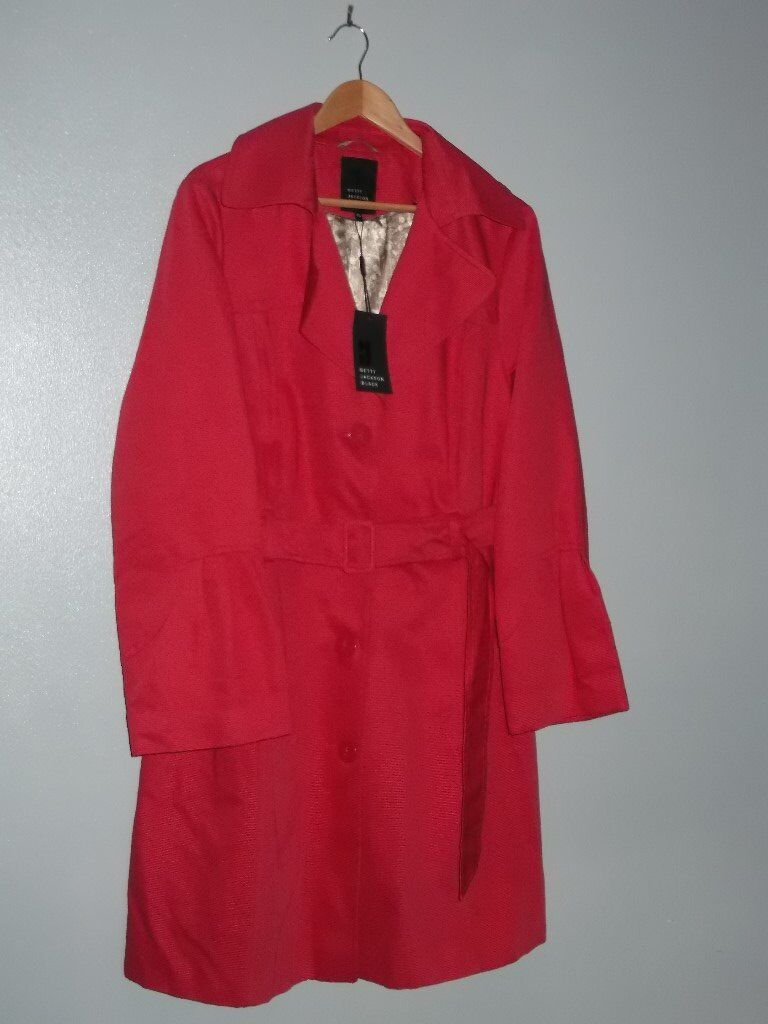 Ladies Debenhams Belted Trench Coatin AberdeenGumtree - Ladies Betty Jackson Belted Trench Coat. From the Designers at Debenhams Collection. Red. Size 20. Never Worn and Still has the Tags on. Original Price £85. £15