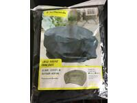 Large fire pit raincover