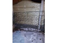 Driveway gates for sale each gate 6f x 4 = 12f wide