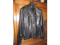"Jacket Leather - Lakeland ""Fine Leather"" Size 42"" Chest"