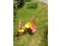 Push along toddler tricycle