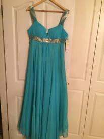 Evening gown, brand new, size 14