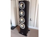 Tannoy Precision 6.4 Hifi Speakers in Piano Black. Just 3 years old, in mint condition