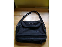 Black messenger bag / luggage / lap top carrier £5