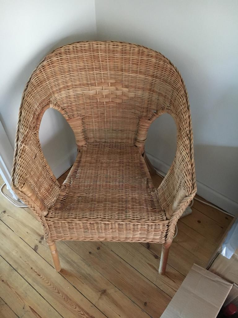 Ikea Wicker Chair In Bath Somerset Gumtree