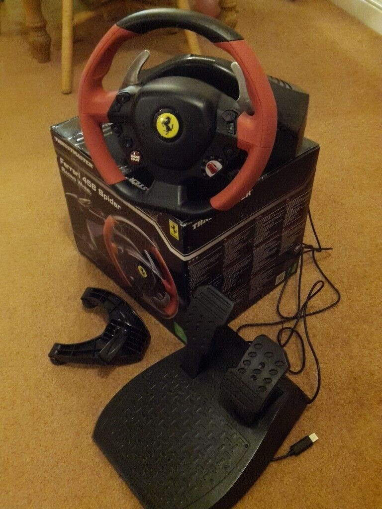 Ferrari 458 Racing Wheel for Xbox One