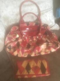 Genuine Vivienne Westwood bag and purse