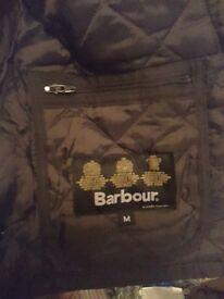 Mens Brown Barbour Jacket - Medium ( fit is extra large)