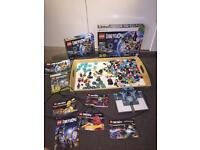 Xbox 360 lego dimentions starter pack and 4 sets of additional charecters