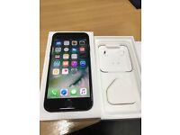 Iphone 7 matt black 128gb unlocked Mint condition New