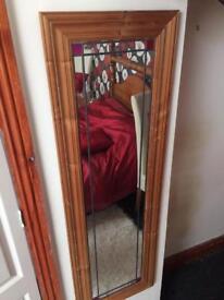 Vintage floor length mirror