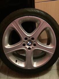 "BMW X5 sport 20"" wheels"