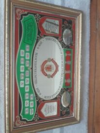 Manchester United Mirror and 2 x Plates