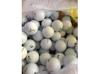 100 Nike golf balls