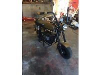 Fanatic motor tx7 monkey bike