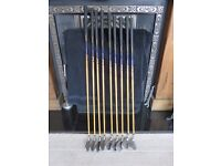 SELECTION OF QUALITY NEW & USED GOLF CLUBS ...DRIVERS / WOODS / PUTTERS / FULL SETS OF IRONS