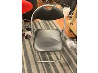 6 folding chairs