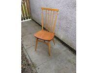 Ercol Elm and Beech Stickback Chair model 608