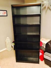 Black Bookshelf , storage, furniture, good condition