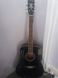 Black Stretton Payne High Gloss Guitar - Brand New