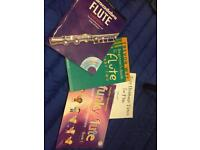Flute sheet music books. Can post