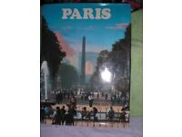 PARIS - HARDBACK 96 PAGE BOOK - FULL OF EXCELLENT PHOTO's OF PARIS V.G.C - 24cm Wide x 33cm High