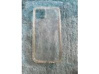 Apple iPhone 12 clear soft case