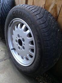 "Genuine BMW 15"" Alloy wheel"