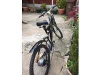 36 v Electric mountain bike, 14 mths old,