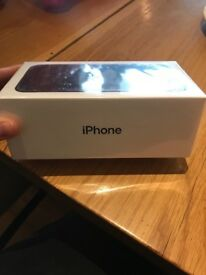 iPhone 7 Black brand new in box, Vodafone 32g