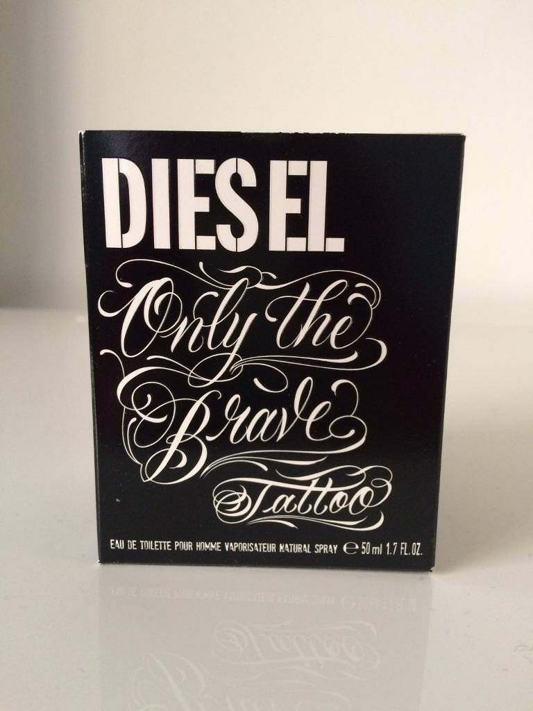 Authentic Diesel Only The Brave Tattoo Reduced Price In Exmouth