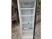 Tall glass fronted fridge w59cm h74cm deep 57.5cm