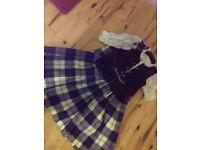 Aboyne (flora) highland dance outfit child