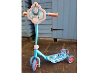 Thomas the Tank Engine Scooter.