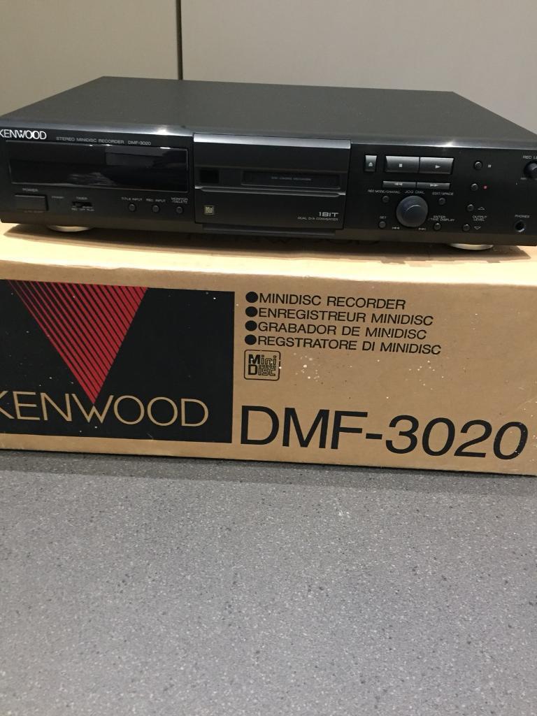Kenwood mini disc player brand new boxed