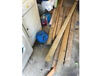 """Wood just under 2""""x4"""" about 8 pieces"""