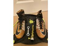 Great condition - Nike Mercurial superfly 5 soft ground pro football boots - UK size 7.5