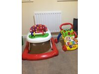 2x Baby walker first steps Excellent condition. Hardly used