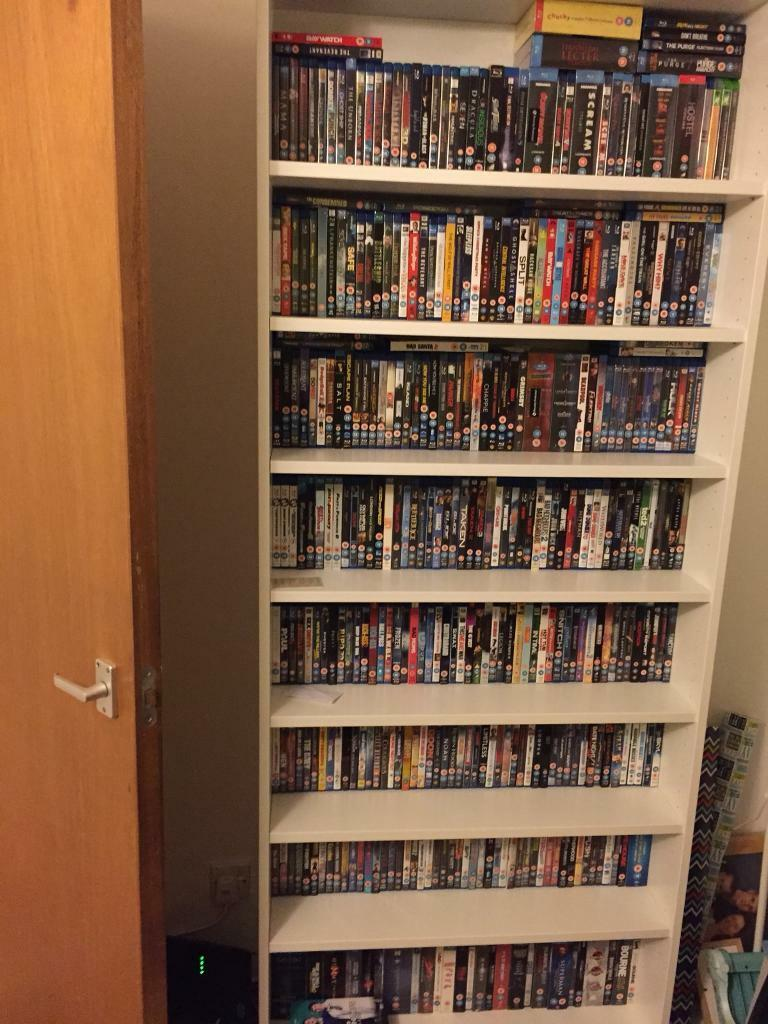 Blu rays collection