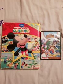 Mickey mouse clubhouse book and dvd