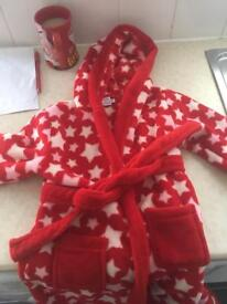 Dressing gown age 3-4years