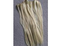 Blonde / Dark Blonde Hair Extensions USED ONCE Amazing Condition