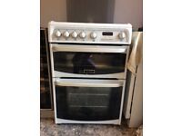 Canon double oven gas cooker