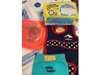 Baby swimming items